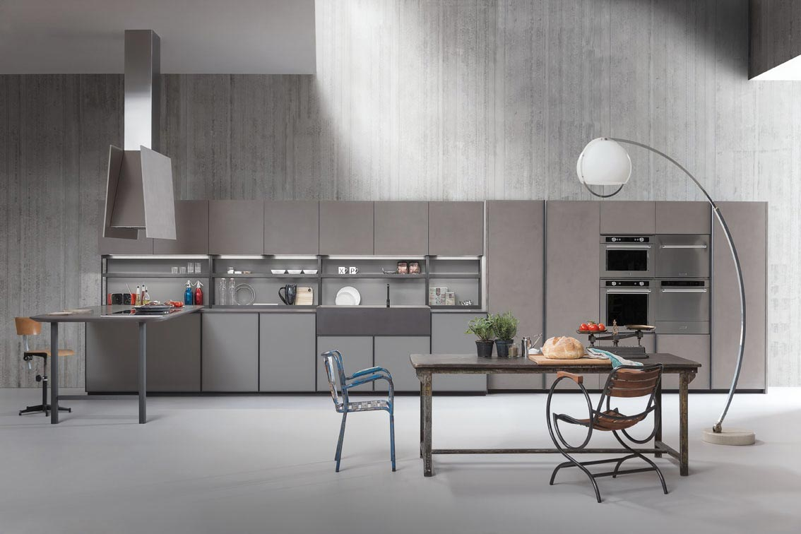 Beautiful cucine senza maniglie photos acrylicgiftware - Cucina senza maniglie ...
